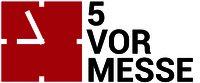 Logo 5-vor-Messe - Expresslogistik für Veranstaltungen und Messen