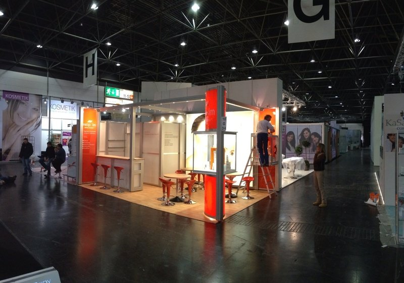 Exhibition Booth In Spanish : Booth builders for trade fair constructions