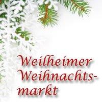 Christmas market  Weilheim in Oberbayern