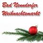 Christmas market, Bad Nenndorf