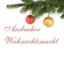 Christmas market, Ansbach