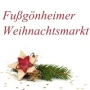 Christmas market, Fußgönheim